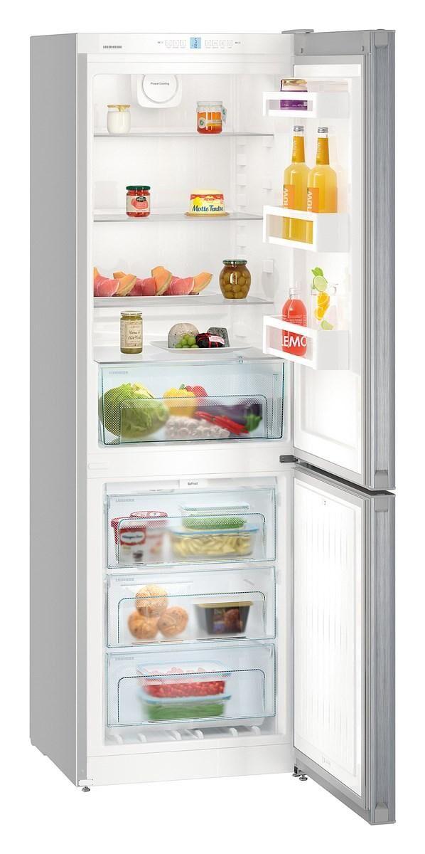 Liebherr CNEL 4313 Libera installazione 304L A++ Argento frigorifero con congelatore