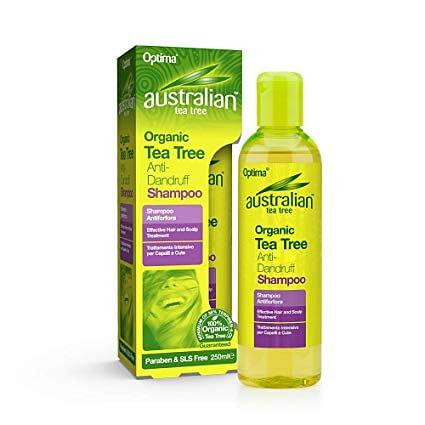 Optima Naturals Australian Tea Tree Anti-Dandruff Shampoo Antiforfora 250 Ml