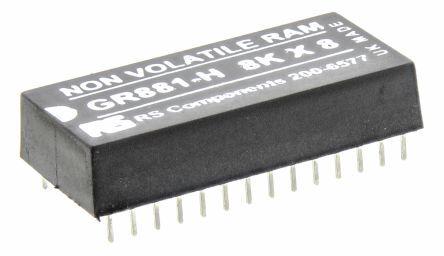 Greenwich Instruments NVRAM , 64kbit, PDIP 28 Pin, GR881-HT