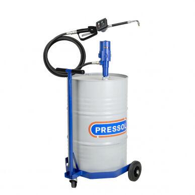 Pressol Kit pompa travaso olio mobile per fusti 200L con carello 19 244 396