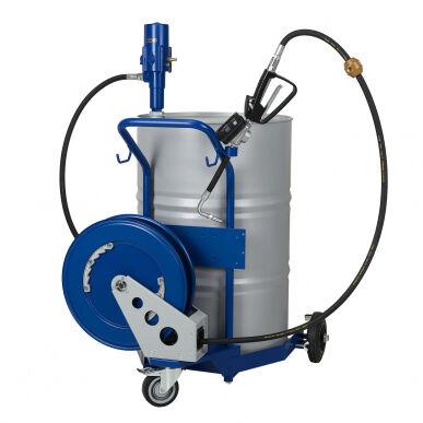 Pressol Kit pompa travaso olio , carrello mobile, fusti 200L 19 257 561