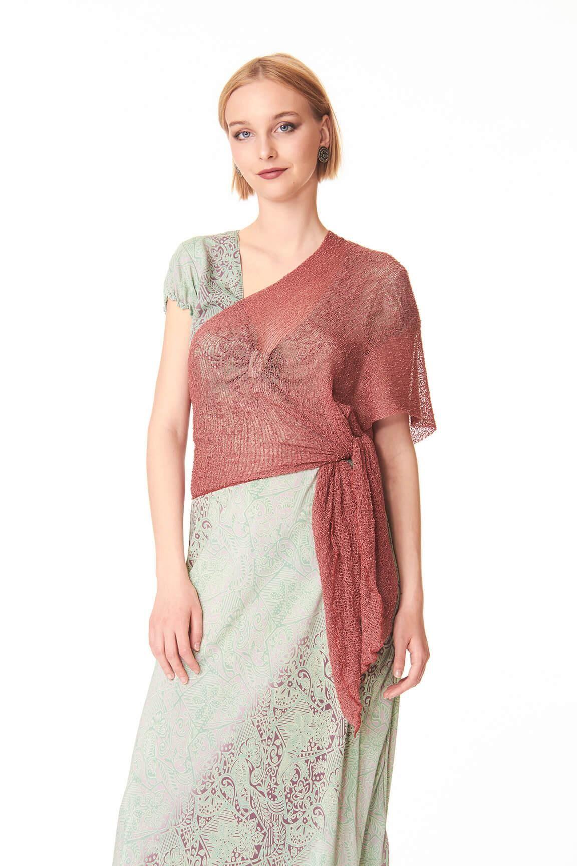 Controcorrente Group Ponchetto Rosa Antico   Accessori moda originali