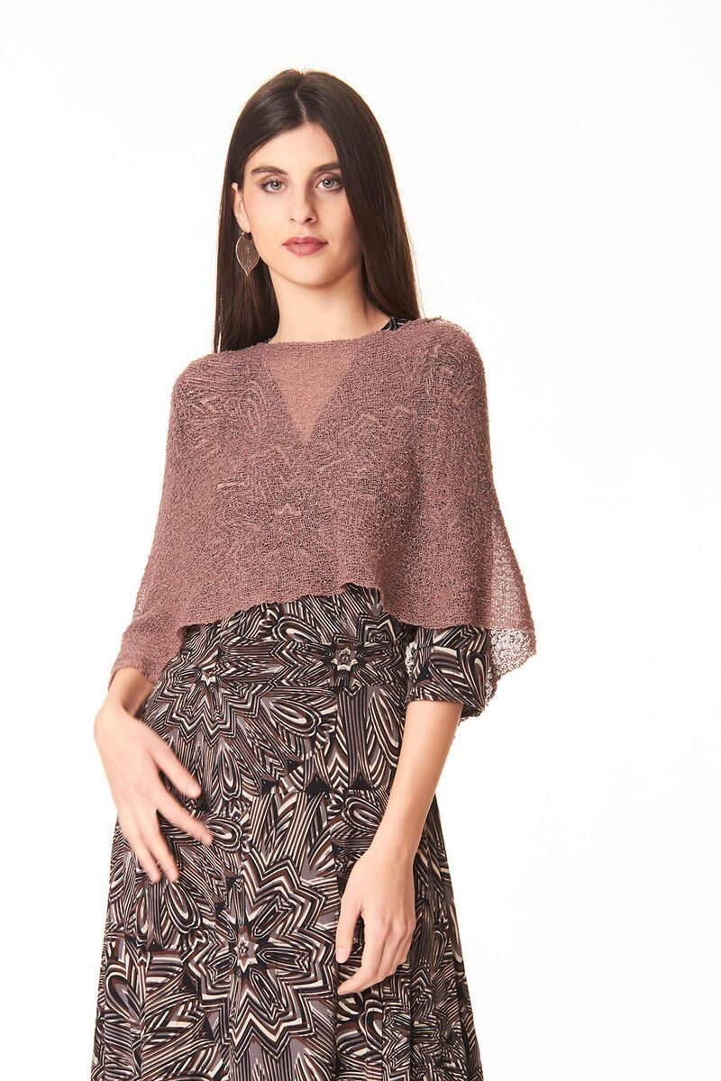 Controcorrente Group Ponchetto Visone   Accessori etnici moda donna