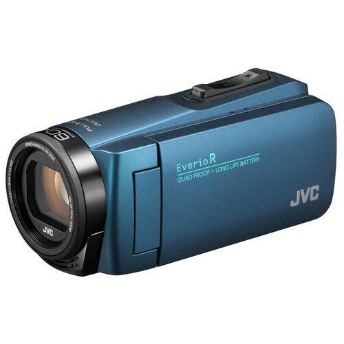 JVC Videocamera JVC Palmare GZ-R495AEU Blue + SD Card