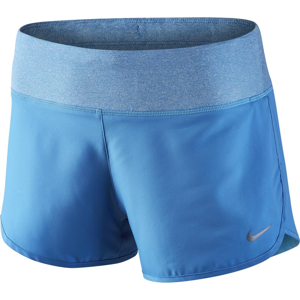 Nike Short Rival 3 Run Azzurro Donna XL