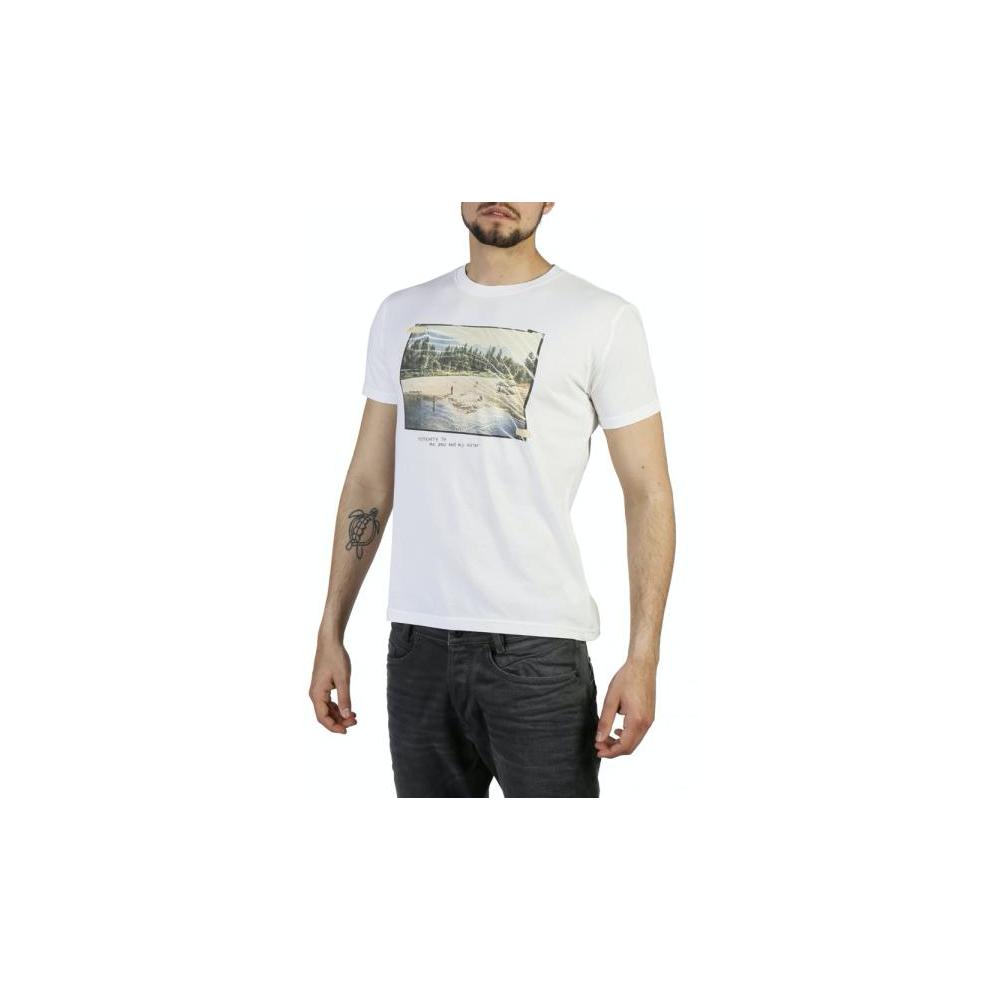 Think Pink T-Shirt Stampa Bianco M