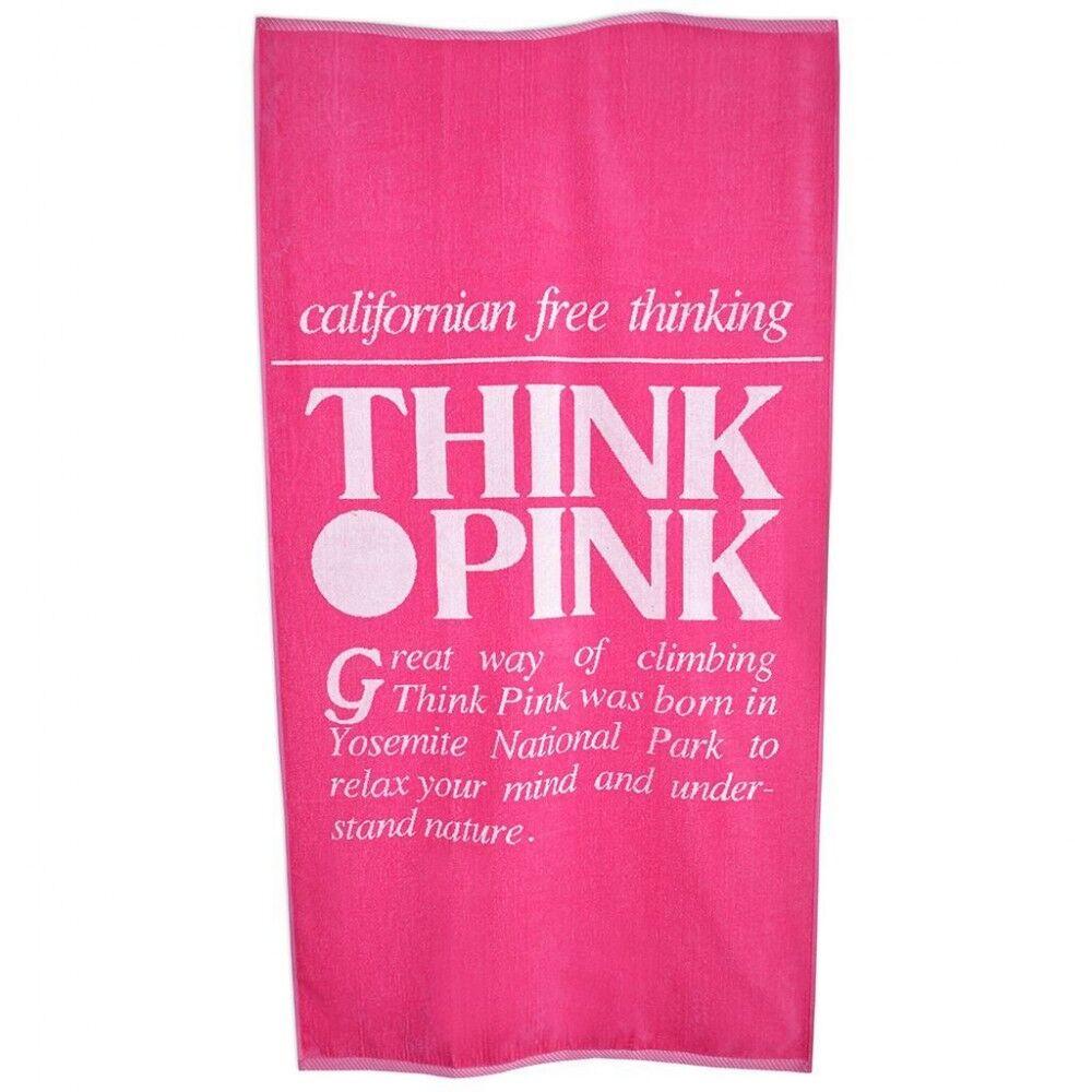 Think Pink Telo Logo Retro' Rosa TU