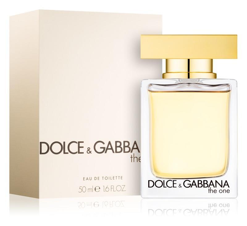 Dolce&Gabbana The One Eau de Toilette da donna 50 ml