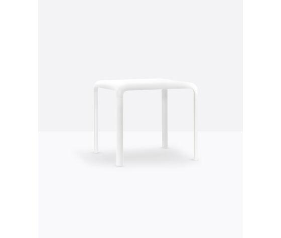 pedrali n.2 tavoli in polipropilene snow