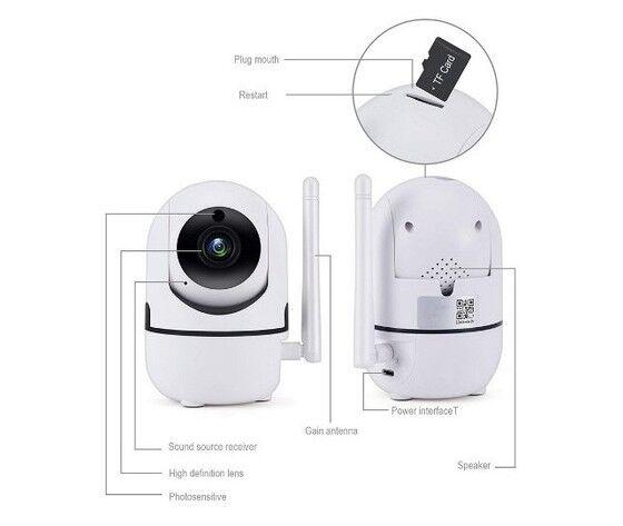 IP CAMERA Aj3310 Mini Telecamera Intelligente 1080p Wi-Fi Cloud