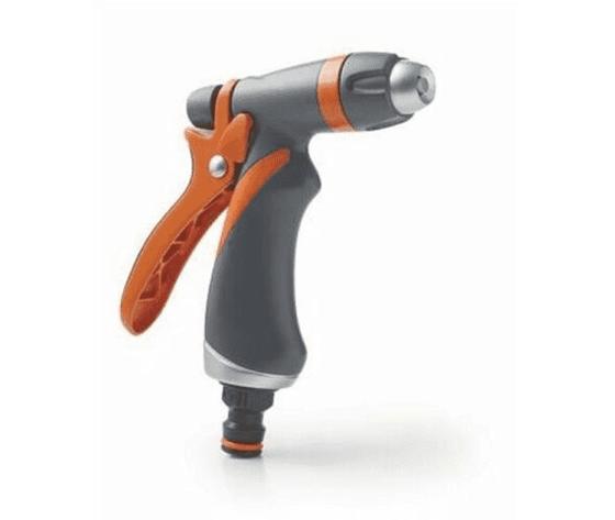 g.f. pistola irrigazione metallo gomma top