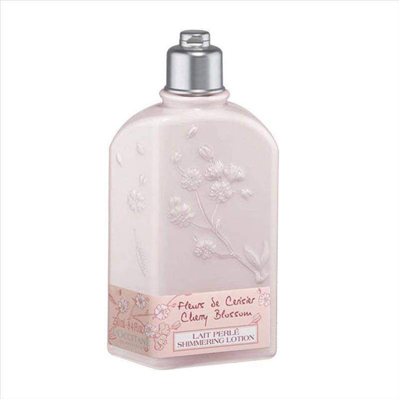 l'occitane latte corpo illuminante fiori di ciliegio 250 ml