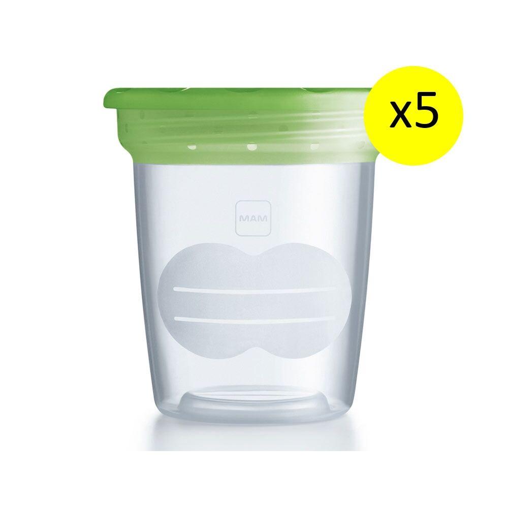 Mam Bamed Baby Italia Mam Contenitore Latte Storage Solution
