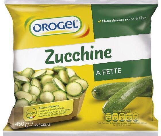 orogel zucchine a fette gr.450
