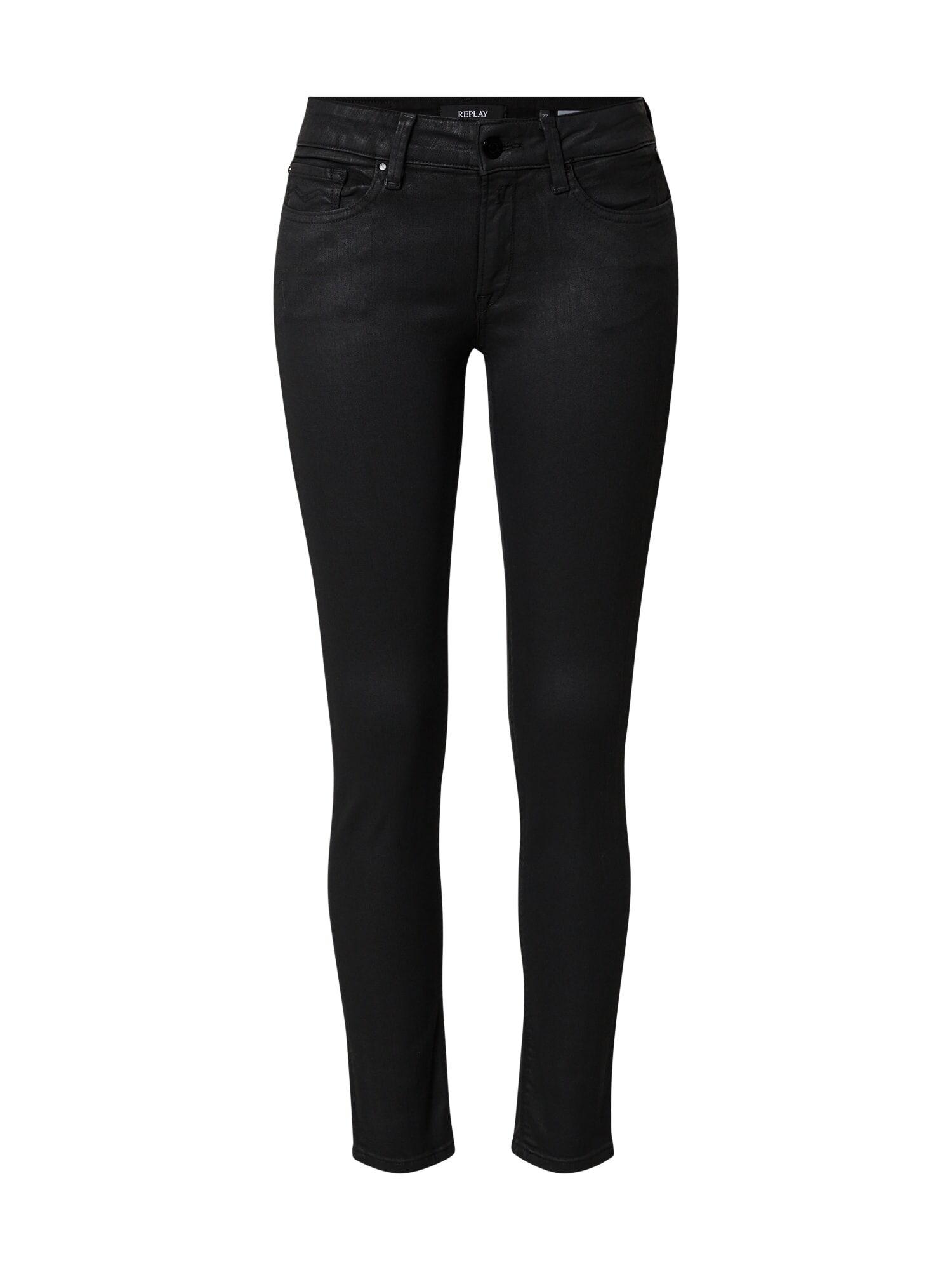 REPLAY Jeans 'New Luz' Nero