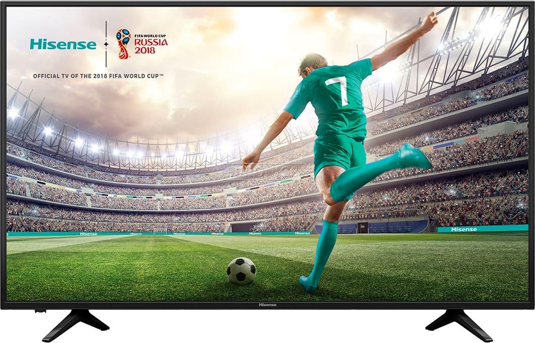 Hisense H55a6100 Tv Led 55 Pollici 4k Ultra Hd Digitale Terrestre Dvb T2 /t/c/s2/s Ci+ Smart Tv Web Browser Opera Hotel Tv Lan Wifi - H55a6100 Serie A6100 ( Garanzia Italia )