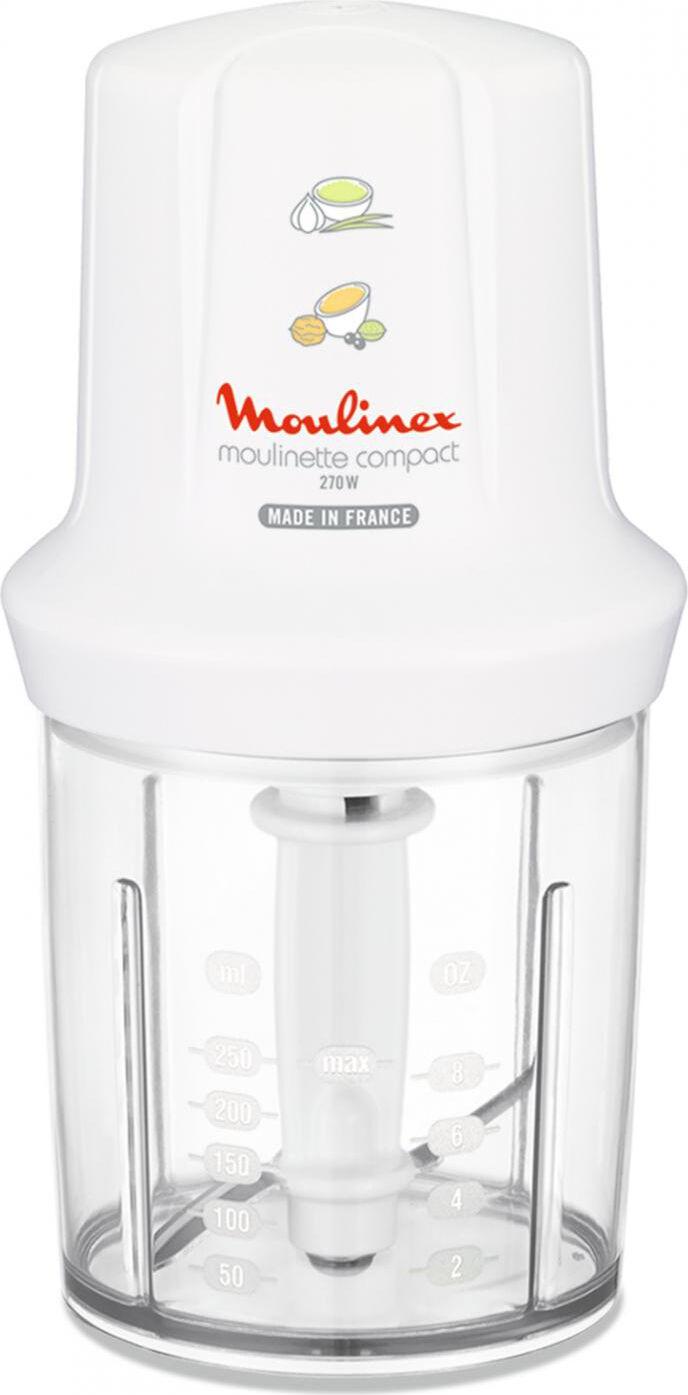 Moulinex Dj3001 Tritatutto Potenza 270 Watt Colore Bianco - Moulinette Compact - Dj3001