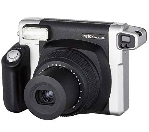 Fujifilm 16445795 Fotocamera Istantanea Con Flash Display Film 86 X 108 Mm Colore Nero / Argento - 6445795 Instax Wide 300