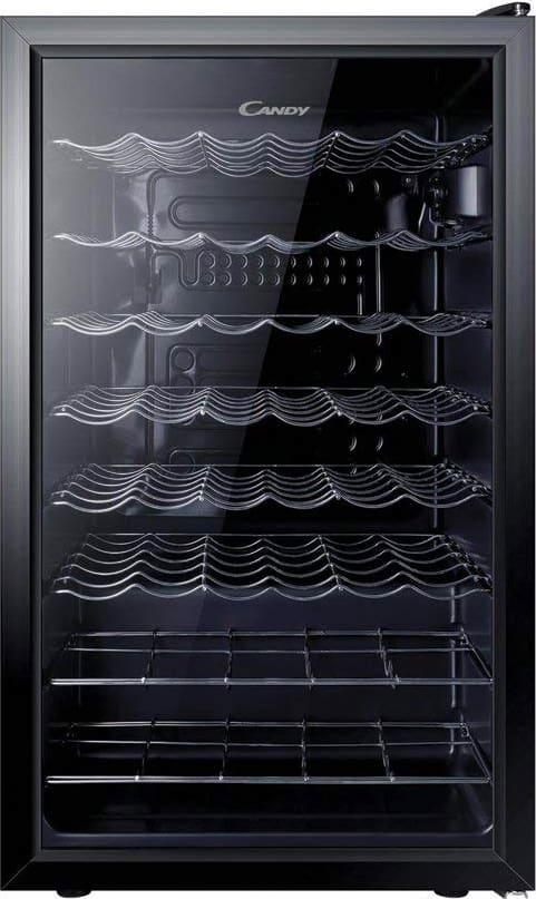 Candy Ccv150skeu Cantinetta Frigo Per Vini Capacità 40 Bottiglie Classe Energetica B Porte Vetro - Ccv150skeu