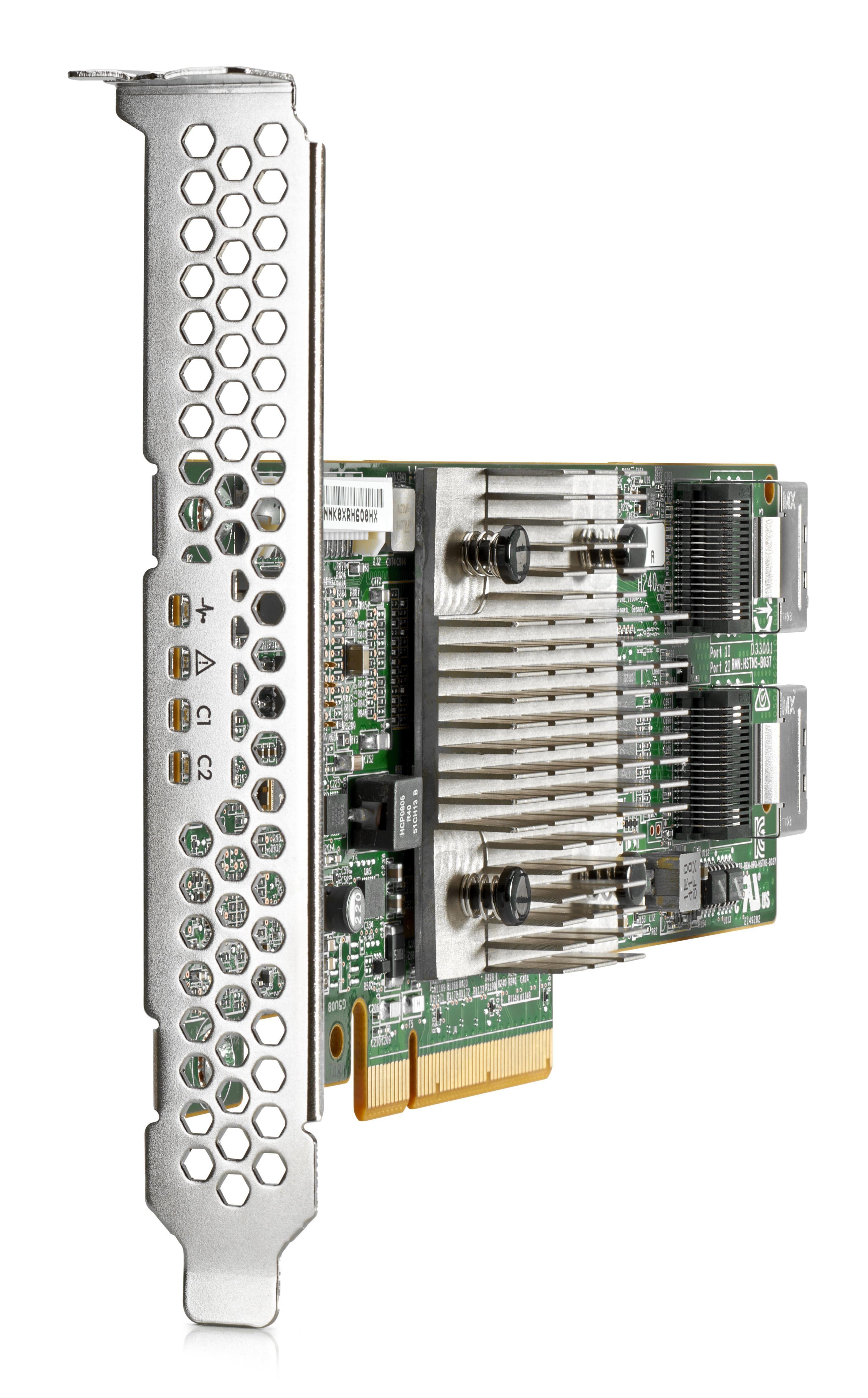 HP Enterprise H240 12Gb 2-Ports Int Smart Host Bus Adapter
