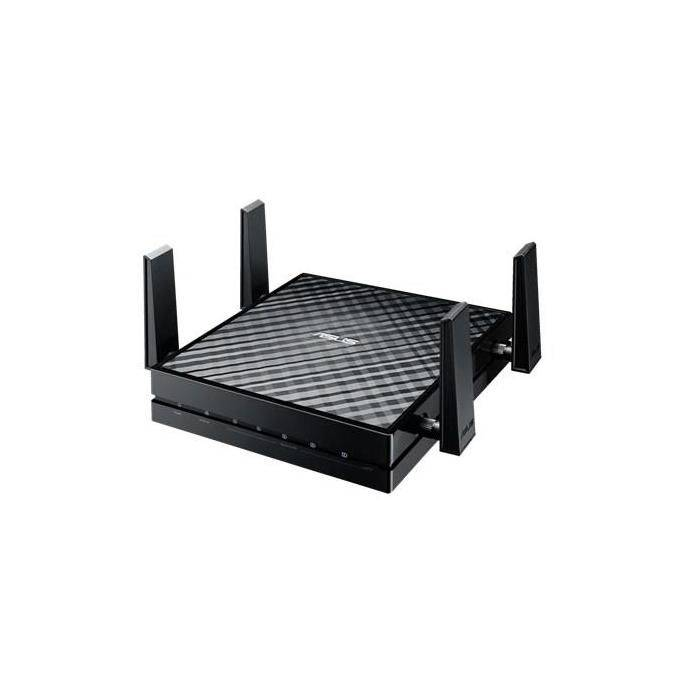 Asus EA-AC87 Media Bridge - Access Point Wireless AC1800 Gigabit LAN Play back in 4k senza latenza 4 antenne MIMO staccabili Ideale per gaming online