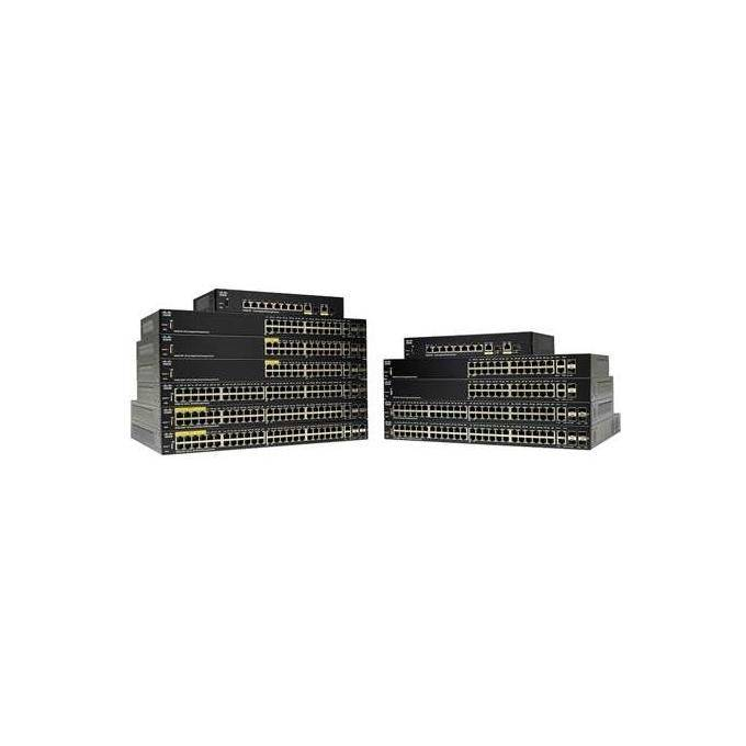 Cisco Systems Sf250-48 48-port 10 100 Switch