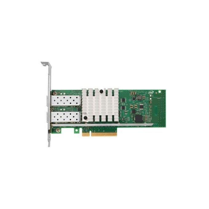 Lenovo Intel X520-DA2 Adattatore di rete PCIe 2.0 x8 profilo basso 10 GigE 2 porte per System x3100 M5, x3530 M4, x3650 M4 HD, x3690 X5, x36XX M3, x3755 M3, x3850 X6, x3950 X6