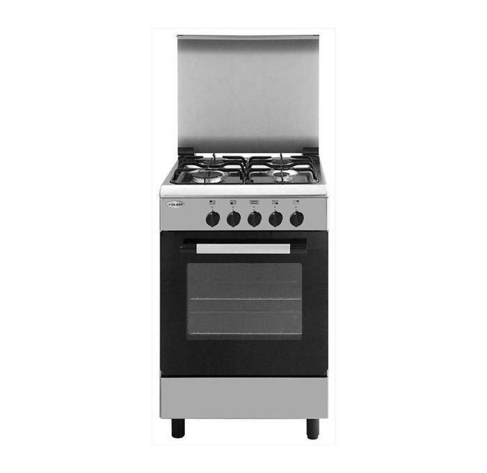 GLEM GAS Cucina 53x50 Inox Fe 4f