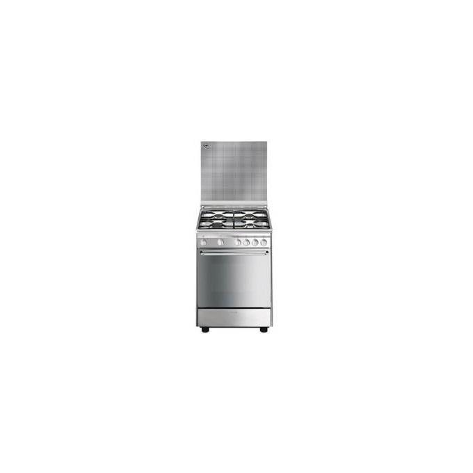SMEG CX6SV9 Cucina 60cm Classe A Pianale gas forno multifunzione ventilato Acciaio inox