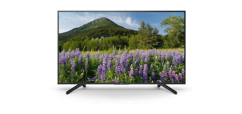 Sony KD-49XF7096 Tv Led 48,5'' 4K Ultra Hd Smart Tv Wi-Fi Nero