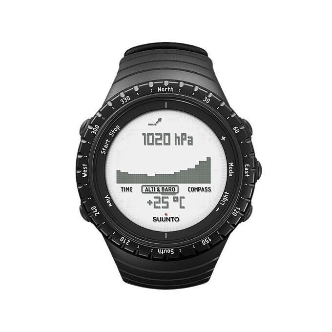 suunto core regular black orologio sportivo nero