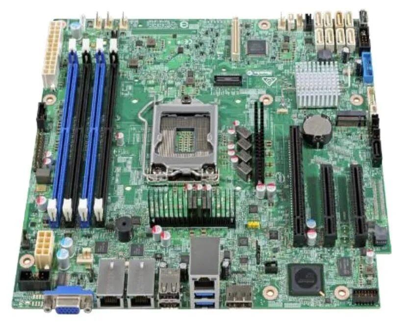 Intel Server Board S1200SPLR Scheda Madre Micro ATX LGA1151 Socket C236 Usb 3.0 2 x Gigabit LAN