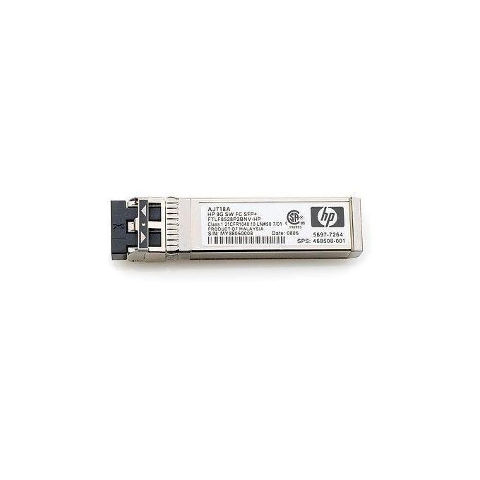 HP StorageWorks AJ718A Transceiver Onde Corte Fibre Channel SFP Argento