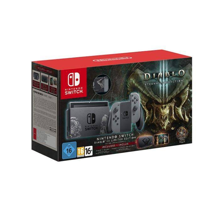 Nintendo Console  Switch Diablo 3 III: Eternal Collection Limited Edition