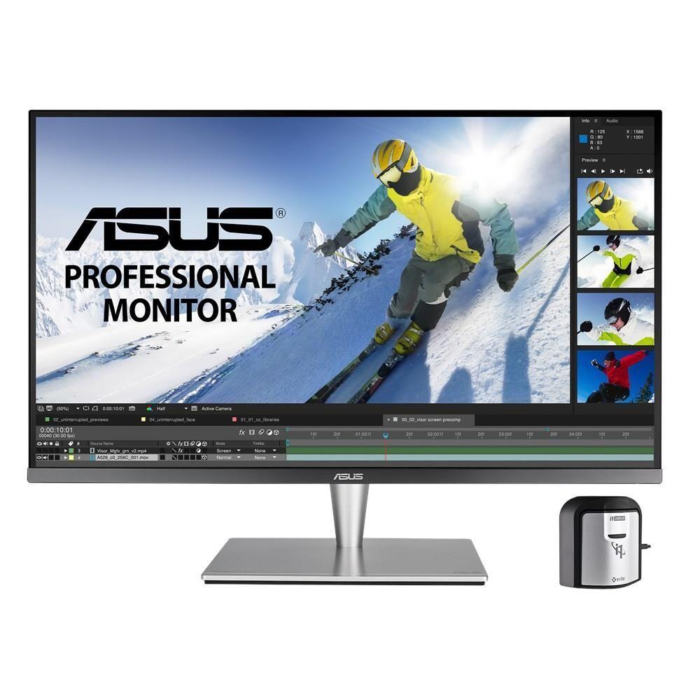 Asus PA32UC-K Monitor Piatto per Pc 32'' 4K Ultra Hd Led Grigio