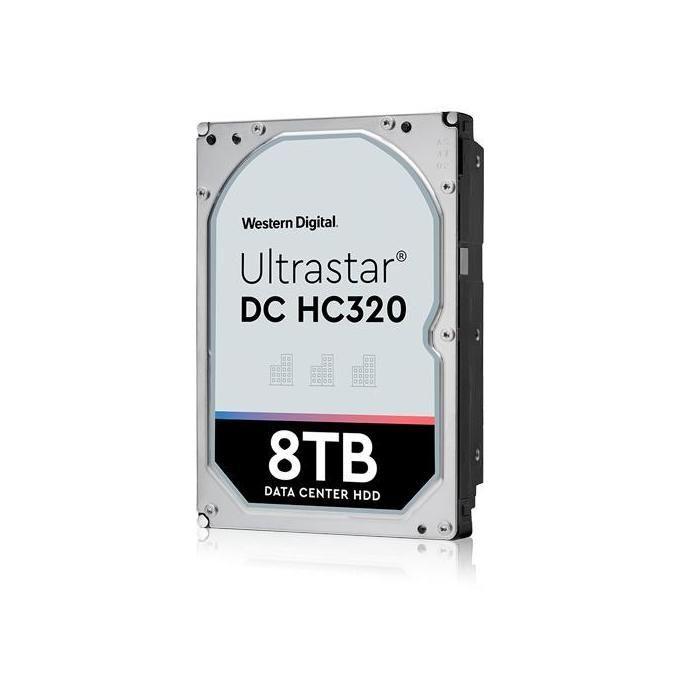 HGST WD Ultrastar DC HC320 HUS728T8TALE6L4 Hard Disk Interno 8Tb 3,5'' Sata 6Gb s 7200rpm 256Mb