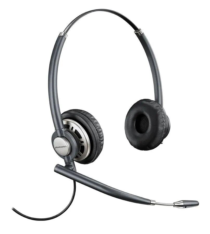 plantronics hw720 da80 cuffie da pc con microfono nero