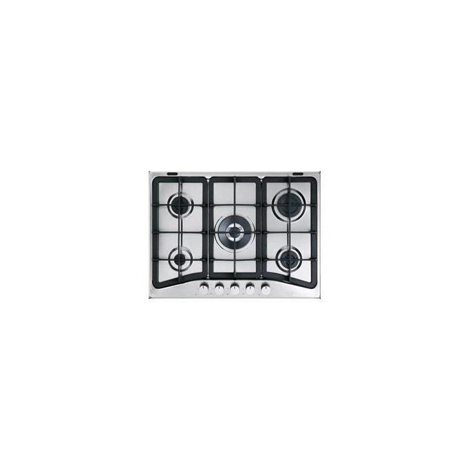 DeLonghi IF57PRON Piano cottura gas 70cm 4 gas+1trip corona ghisa Inox