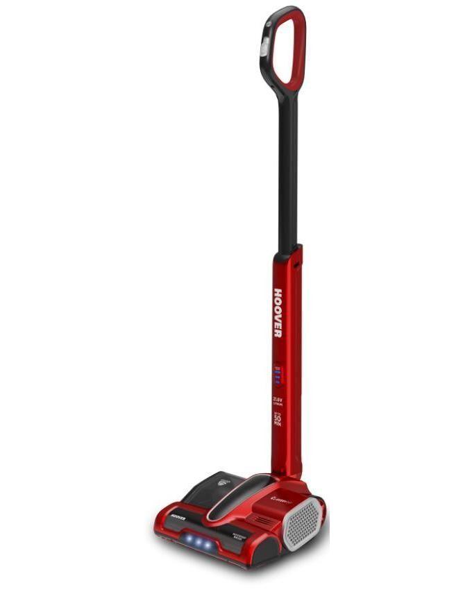 Hoover CL-Everyday CV216RB 011 Scopa Elettrica Cordless 0,7Lt senza Sacco Grigio Nero Rosso