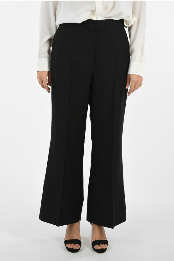 Loewe Pantaloni Wide Leg a 1 Pince taglia 42