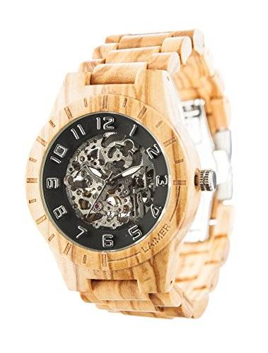 bioston orologi polso legno