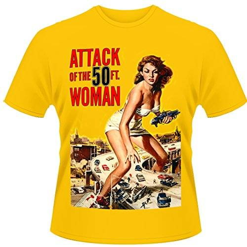 Playlogic International(World) - Attack Of The 50ft Woman, Musica e film Uomo, Dorado, X-Large