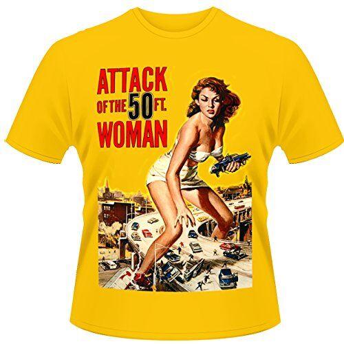 Playlogic International(World) - Attack Of The 50ft Woman, Musica e film Uomo, Dorado, X-Large