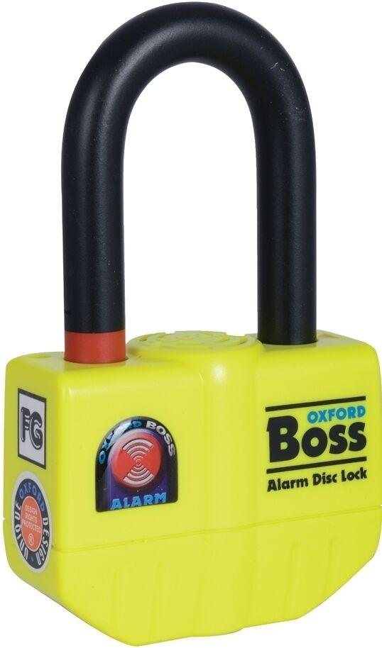 Oxford Boss Alarm Blocco disco Giallo