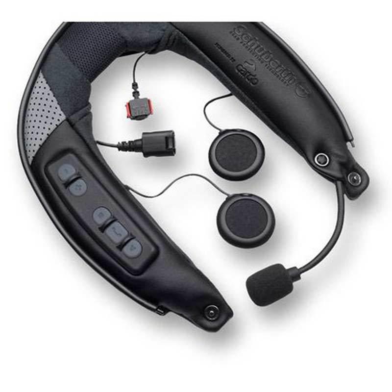 Schuberth SRC System C3 Pro / E1 Sistema di comunicazione Nero XL