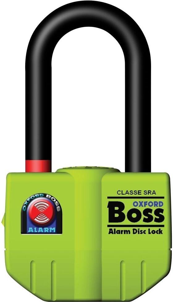 Oxford Boss Alarm 16mm Blocca disco Giallo