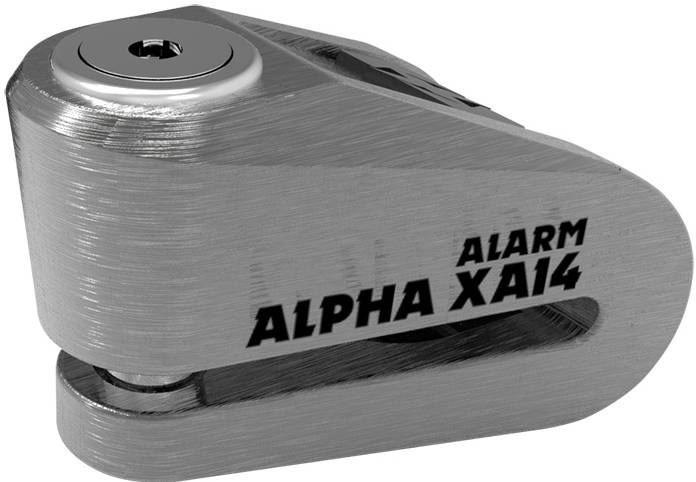 Oxford Alpha XA14 Alarm Blocca disco Nero