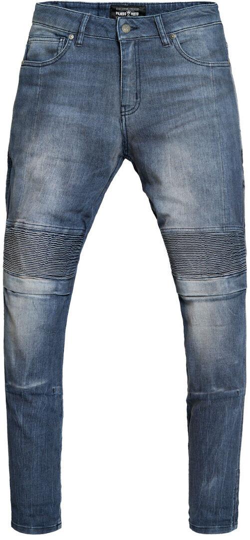 Pando Moto Rosie Navy Plain Signore Moto Jeans