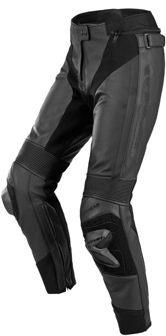 Spidi RR Pro 2 Pantaloni in pelle di moto da donna Nero 46
