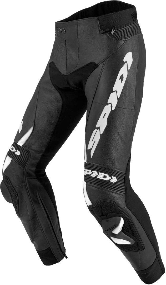 Spidi RR Pro 2 Pantaloni in pelle moto Nero Bianco 56
